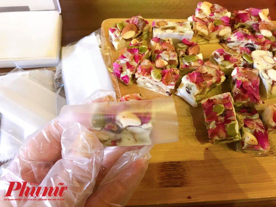 Kẹo Nougat - kẹo hạnh phúc có công thức làm cực kì đơn giản.