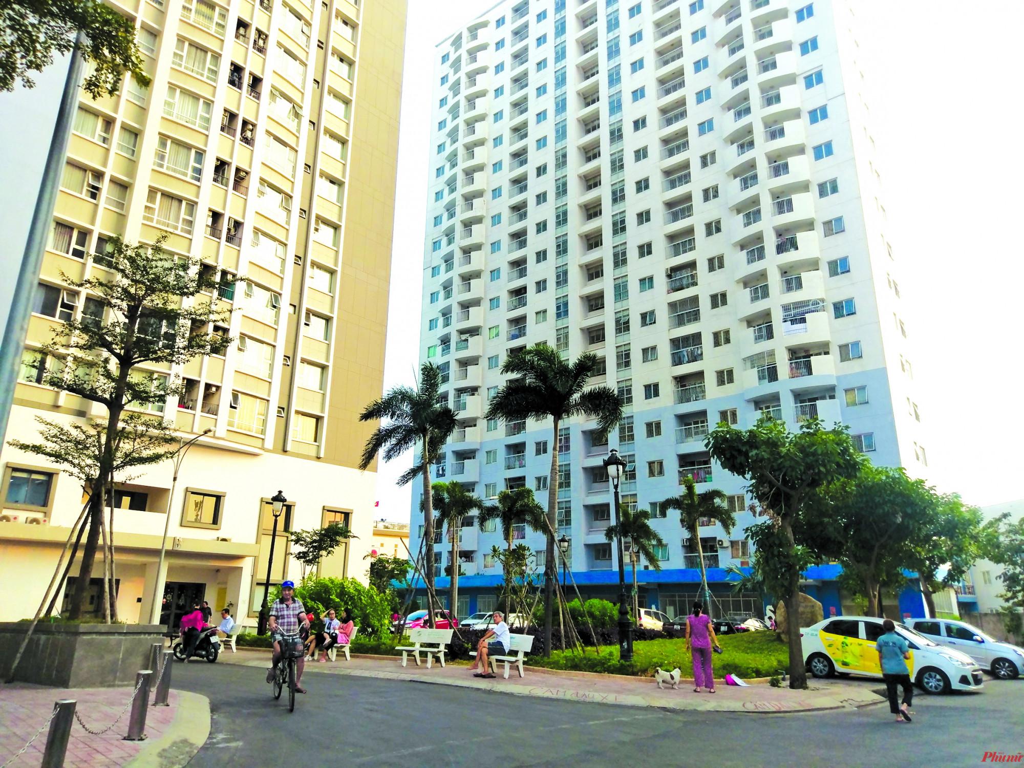 Khu tái định cư 243 Tân Hòa Đông, nhà mới của người có chung cư cũ Khu tái định cư 243 Tân Hòa Đông, nhà mới của người có chung cư cũ