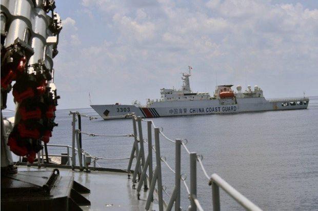 Tàu chiến Imam Bonjol 383 Hải quân Indonesia truy đuổi tàu cá Han Tan Cou vào vùng biển Natuna của Indonesia vào ngày 17/6/2019, ngay sau đó tàu 3303 của Lực lượng Bảo vệ Bờ biển Trung Quốc áp sát.