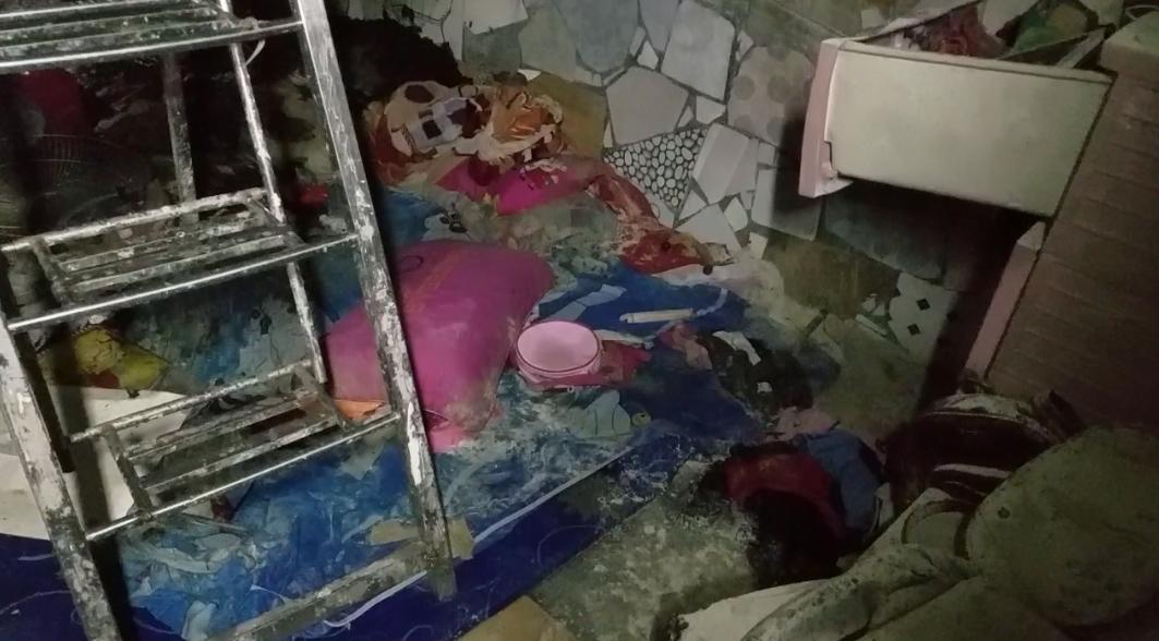 Căn nhà trọ xảy ra hỏa hoạn nghi do người đàn ông tự thiêu vì mâu thuẫn tình cảm