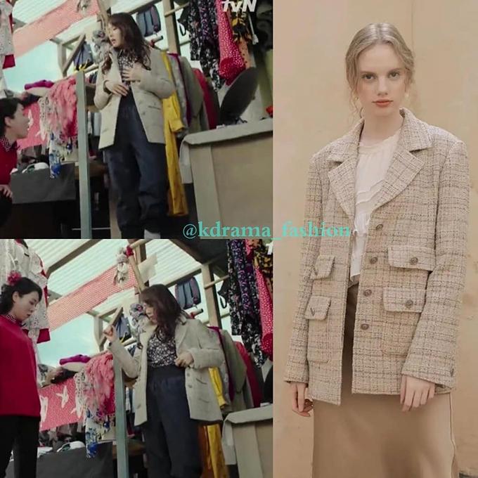 Chiếc áo khoác vải tweed hiệu On & On cũng có giá 7 triệu đồng. Netizen nhận xét, nữ đại gia hẳn phải có một loại