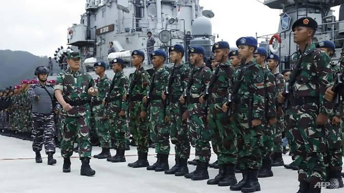 Indonesia đã tăng cường tuần tra quanh Quần đảo Natuna gần Biển Đông - Ảnh: AFP.