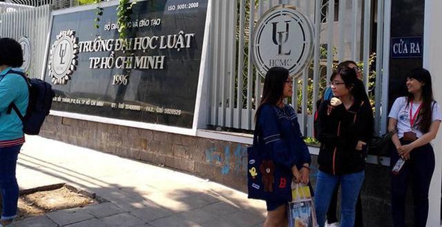 Từ 2020, Trường ĐH Luật TP.HCM bỏ kỳ đánh giá năng lực riêng trong tuyển sinh đầu vào