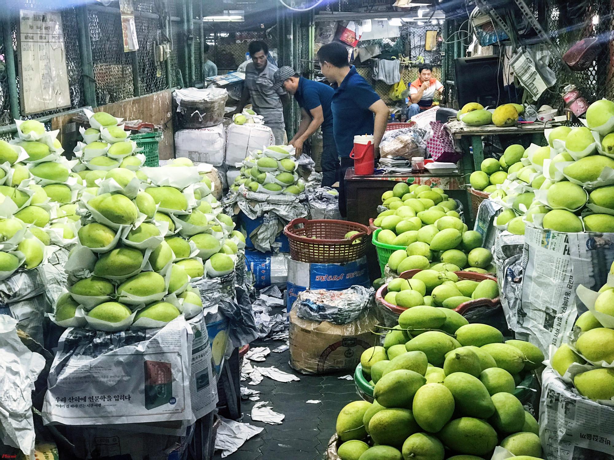 Rạng sáng 7/1, Ban quản lý ATTP có buổi thanh kiểm tra công tác an toàn thực phẩm những ngày giáp Tết Nguyên đán Canh Tý 2020 tại chợ đầu mối nông sản Thủ Đức TP.HCM.
