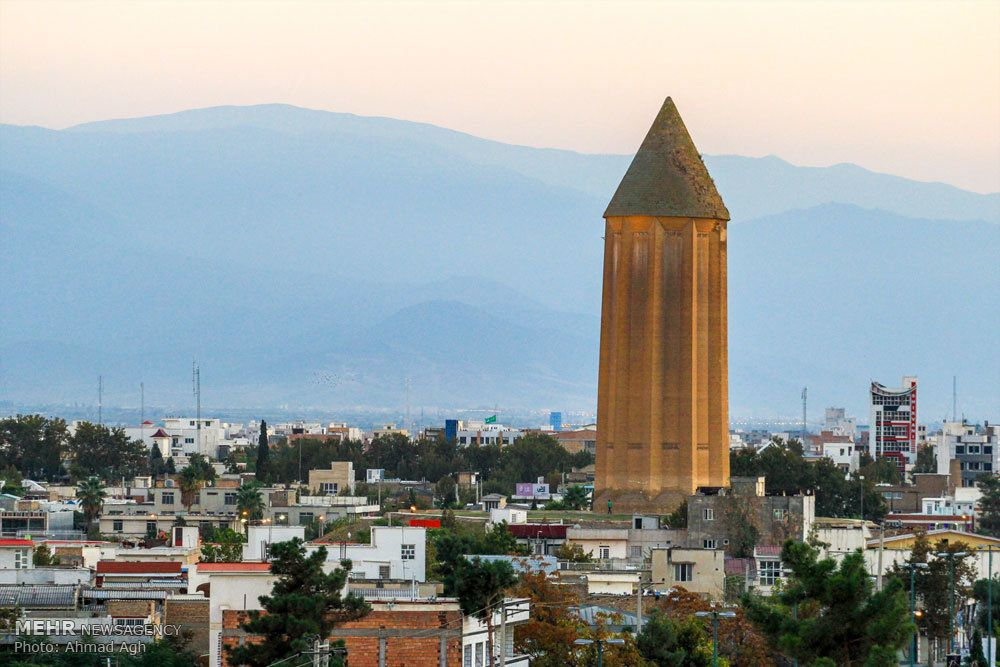 Toà tháp Gonbad-e Kavus