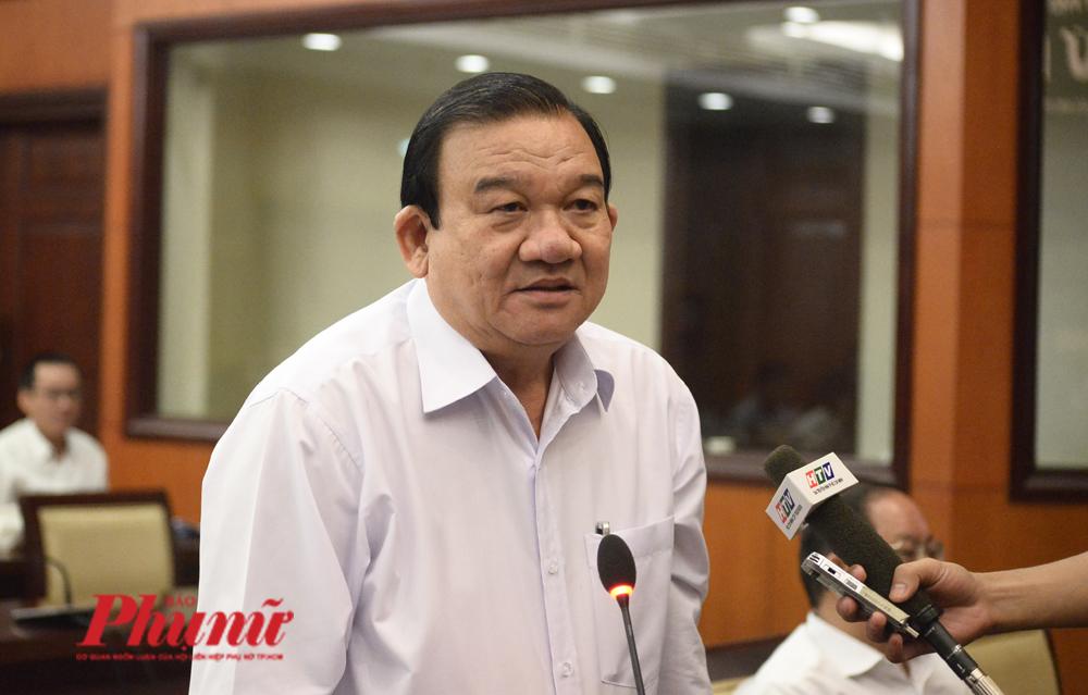 Ông Lê Minh Tấn - GĐ Sở Lao động Thương binh và Xã hội TP.HCM