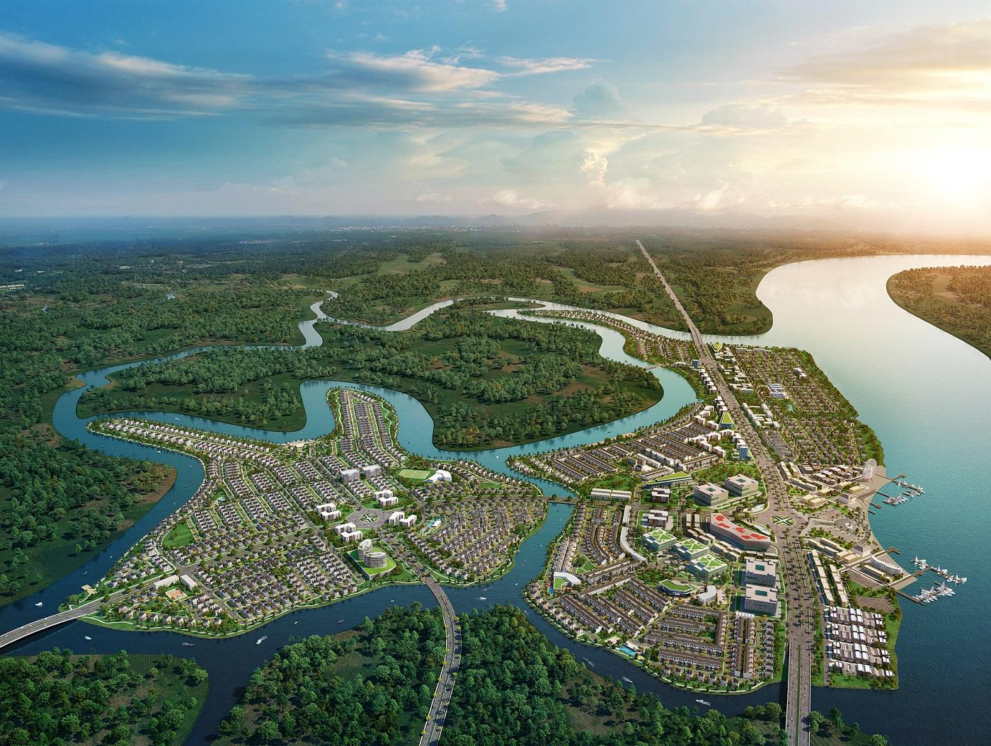 Khu đô thị sinh thái thông minh Aqua City sở hữu những lợi thế toàn diện cả về kiến trúc lẫn không gian xanh