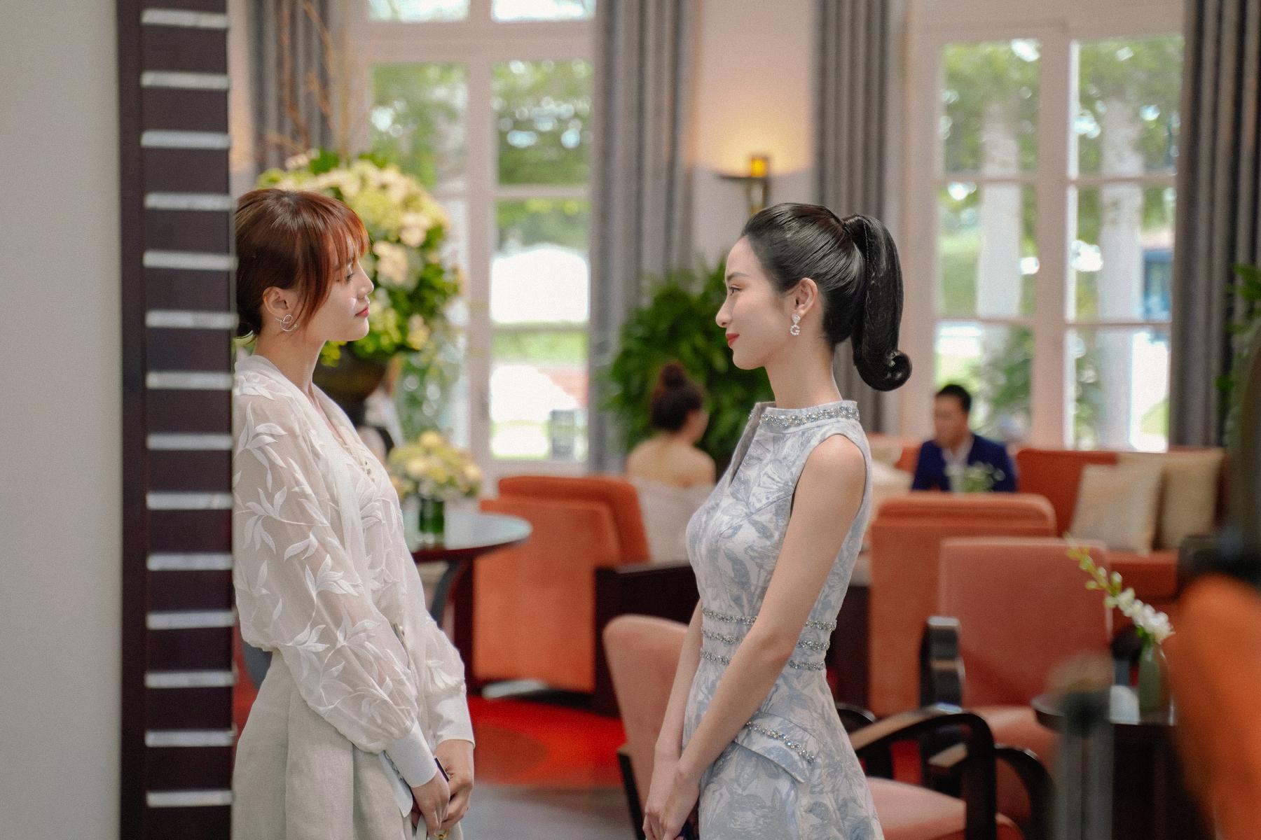 Lan Ngọc và Jun Vũ sẽ đối đầu trong phim mới.
