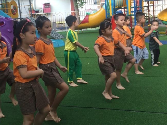 Học sinh trường MN Nhật Quỳnh                                     Ảnh website trường