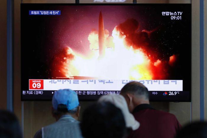 Triều Tiên nhiều lần bắn tên lửa như một hoạt động khiêu khích Mỹ và Hàn Quốc trong năm 2019.