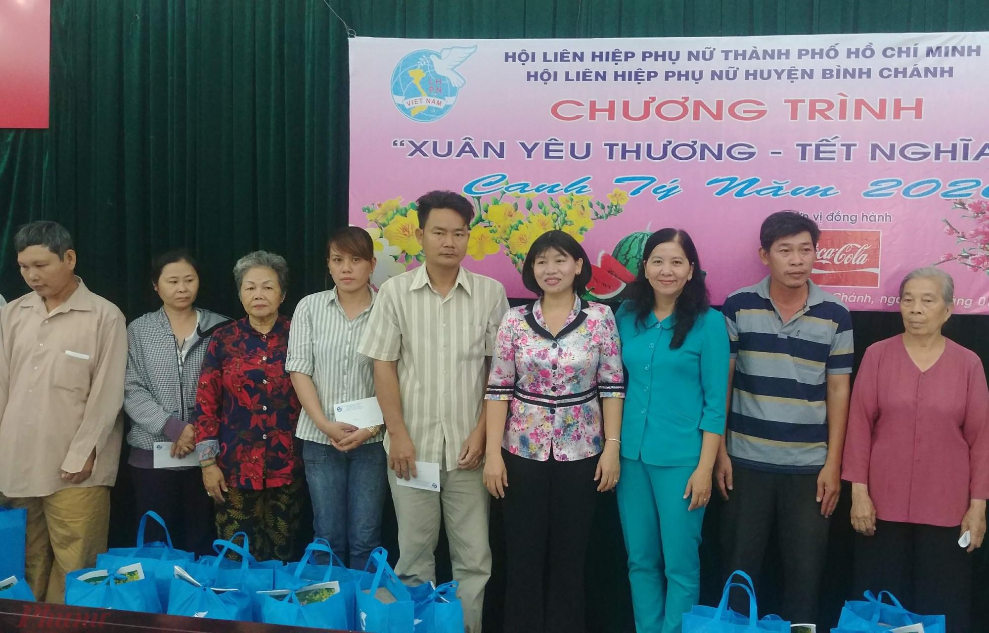 Chương trình tại huyện Bình Chánh.