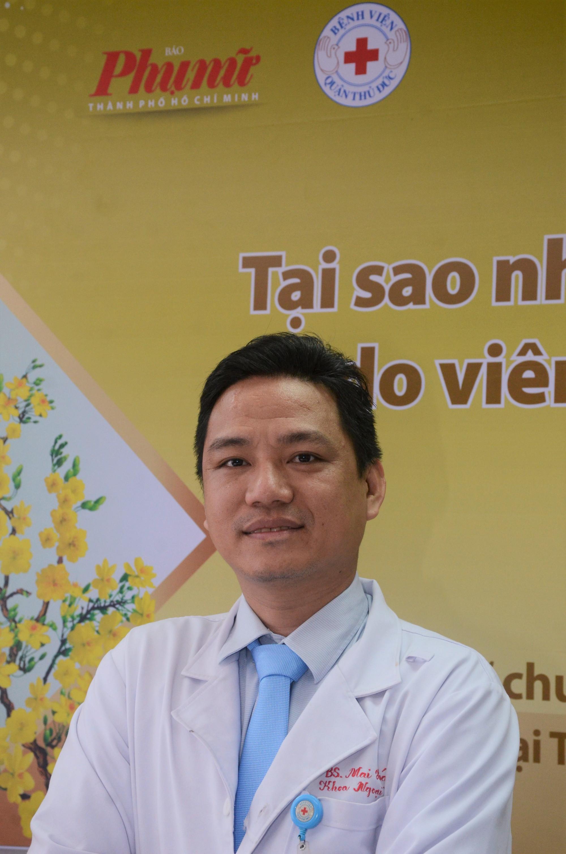 Bác sĩ Mai Hóa - Trưởng khoa Ngoại Tổng quát, Bệnh viện Quận Thủ Đức
