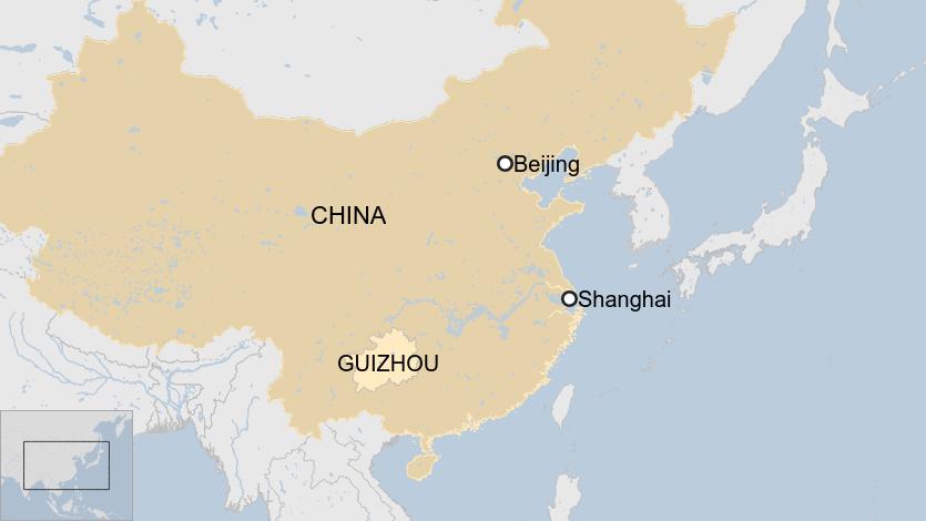 Quý Châu là một trong những tỉnh nghèo nhất Trung Quốc.