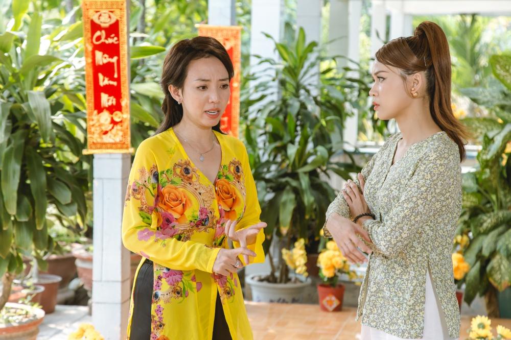 Thu Trang kết hợp ăn ý với Sam tạo nên những tràng cười sảng khoái cho khán giả.