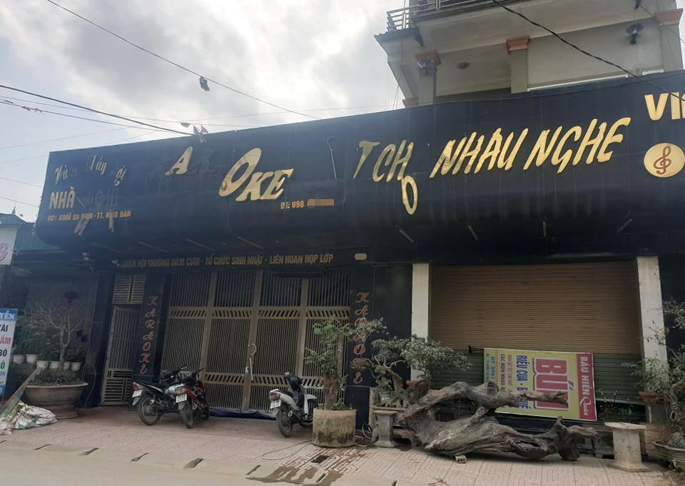 Quán karaoke, nơi cảnh sát ập vào bắt giữ
