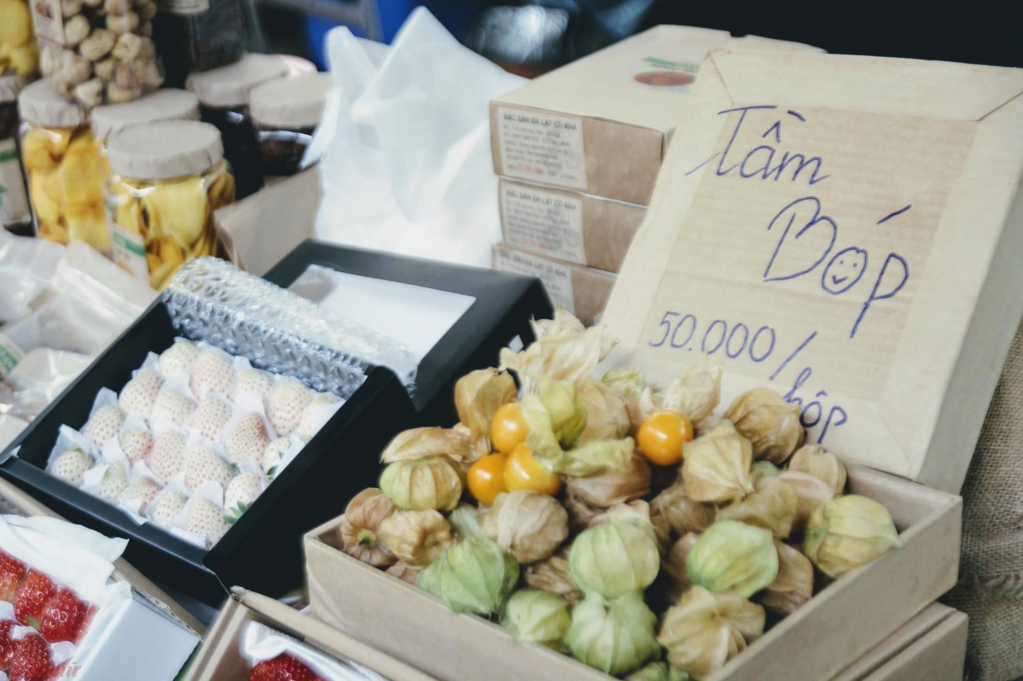 Đặc biết, những loại quả dại như tầm bóp có xuất xứ từ Đà Lạt này có mức giá 200.000 đồng/kg