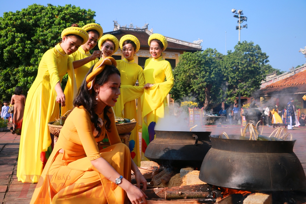 Vào thời Nguyễn, Tết trong Hoàng cung Huế được tổ chức rất long trọng.