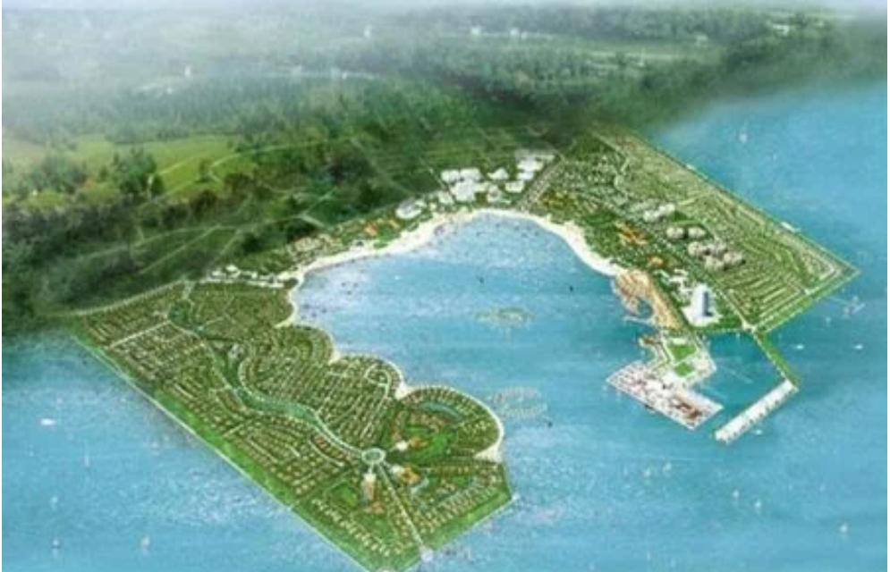 Siêu dự án lấn biển Cần Giờ có cập nhật thêm về đất