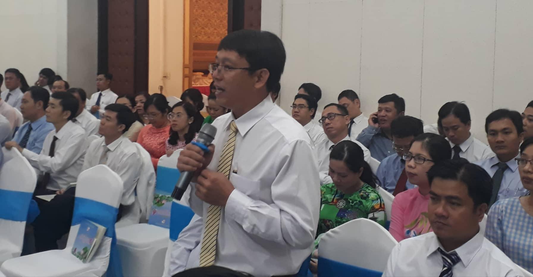 Ông Nguyễn Văn Nam - Chủ tịch xã An Thới Đông, H.Cần giờ tâm tư rất nhiều vấn đề thuộc về H.Cần giờ