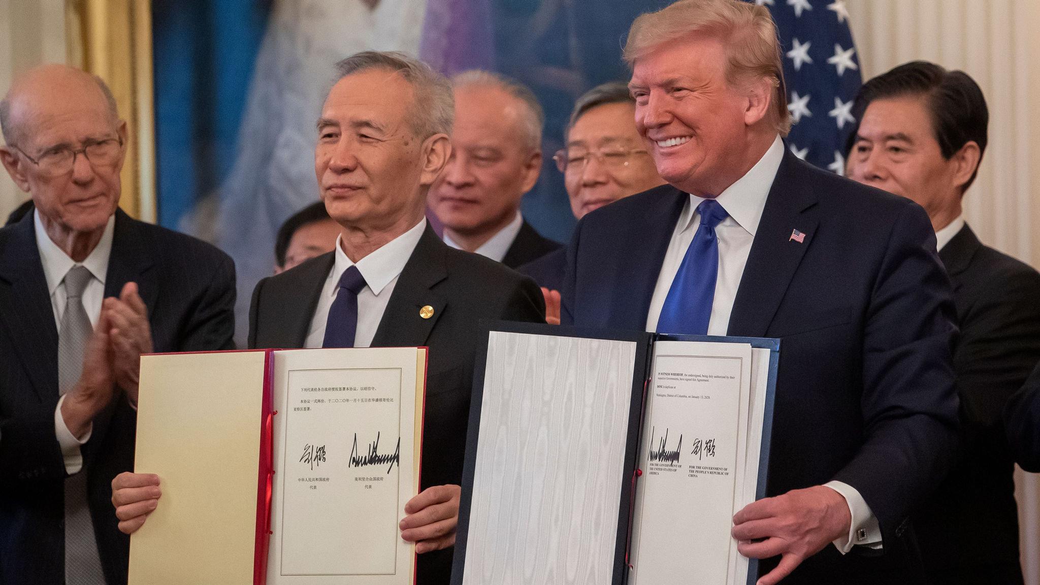 Thị trường thịt heo của Mỹ sẽ thắng lớn sau khi nước này ký thỏa thuận thương mại giai đoạn 1 với Trung Quốc - Ảnh: Financial Times