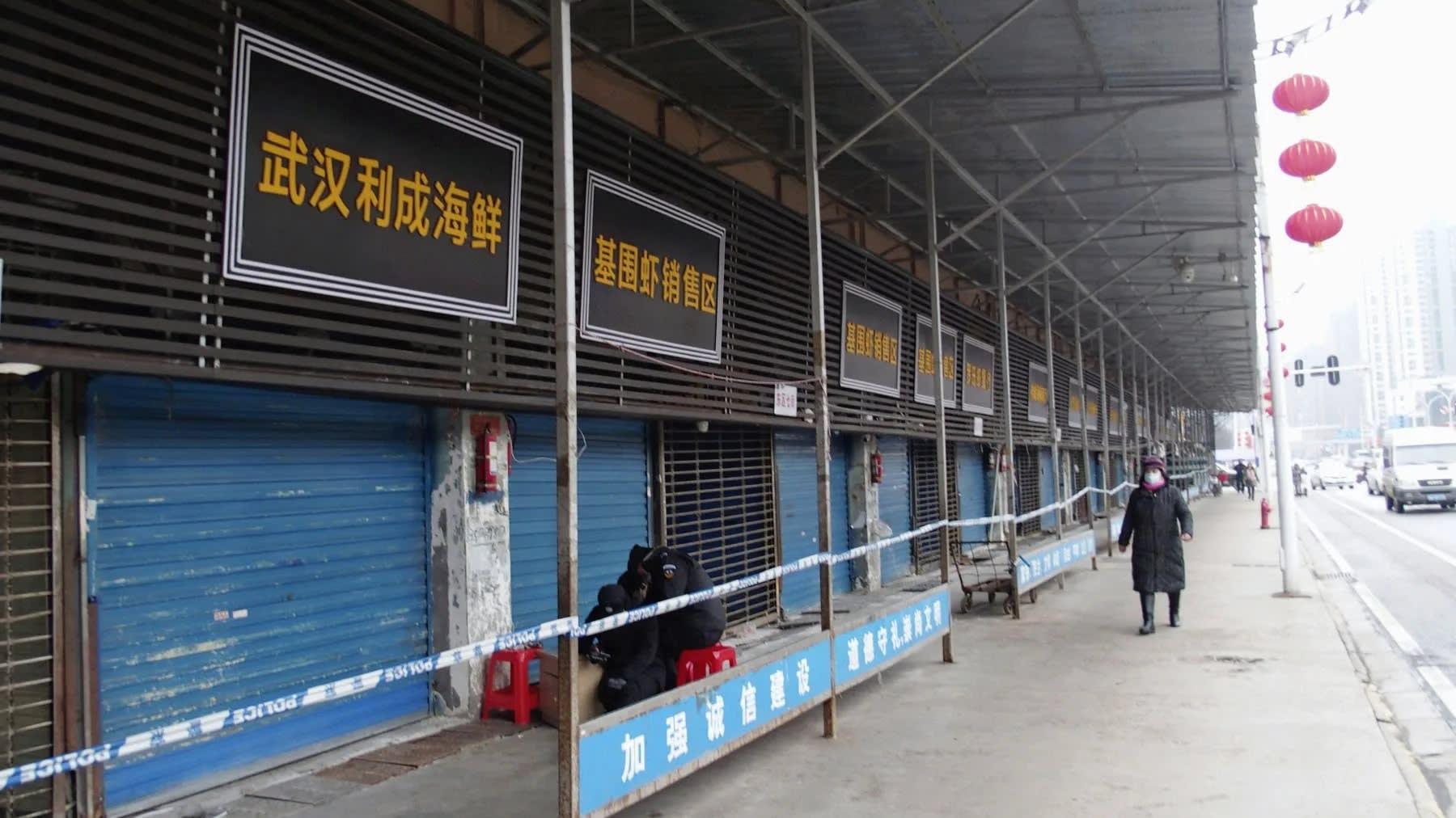 Các trường hợp nhiễm virus mới tại Vũ Hán đa phần có liên quan đến một ngôi chợ, nhưng cũng có vài trường hợp không thể hiện mối liên kết này.