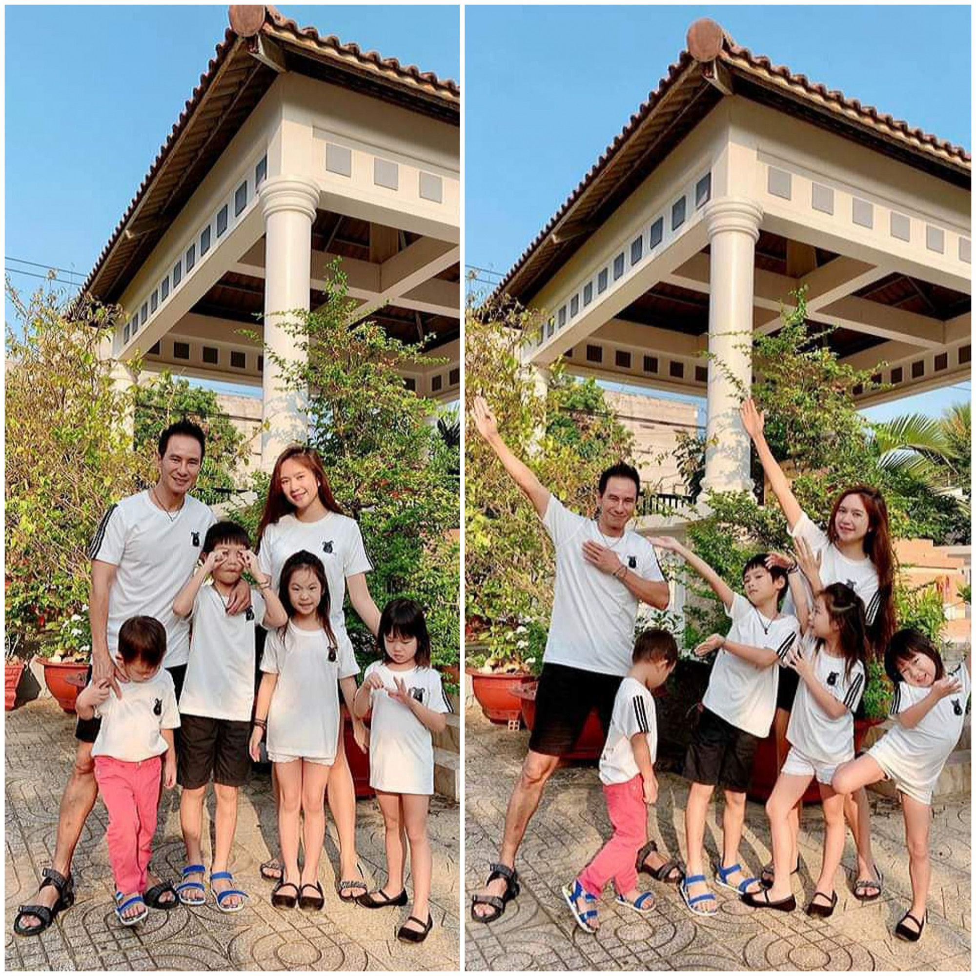 Vợ chồng ca sĩ Lý Hải - Minh Hà đưa các con về Tiền Giang đón tết. Nam ca sĩ hướng dẫn các con tảo mộ, trò chuyện cùng người thân và không quên lưu giữ những khoảnh khắc đáng nhớ bên gia đình.
