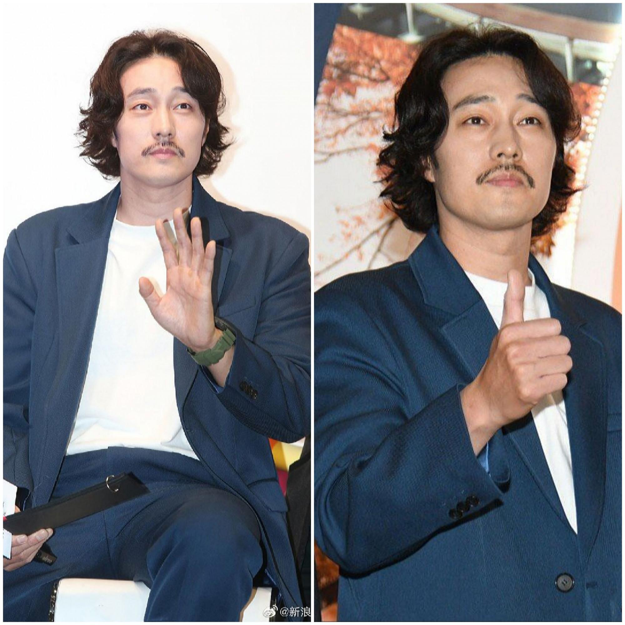 Đầu tháng 11, nam diễn viên khiến khán giả ngỡ ngàng khi xuất hiện bởi ngoại hình phát tướng, râu tóc xuề xòa.