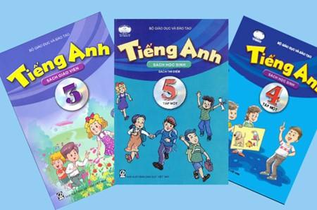 Sách giáo khoa tiếng Anh lớp Một vừa được phê duyệt để sử dụng trong năm học tới