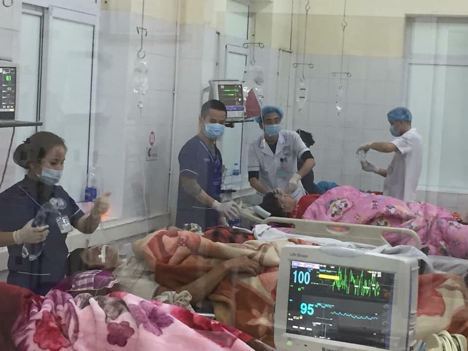 Bệnh nhân đồng loạt nhập khoa Cấp cứu trong tình nguy kịch