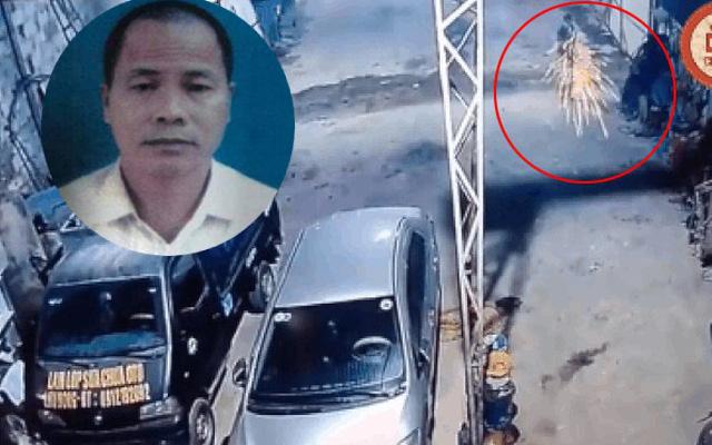 Hung thủ Lý Văn Sắn và hình ảnh ghi nhận tại hiện trường vụ việc