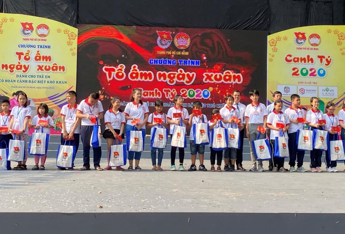 Tập đoàn Novaland đồng hành cùng Thành đoàn, Ủy ban MTTQ Việt Nam trong chương trình