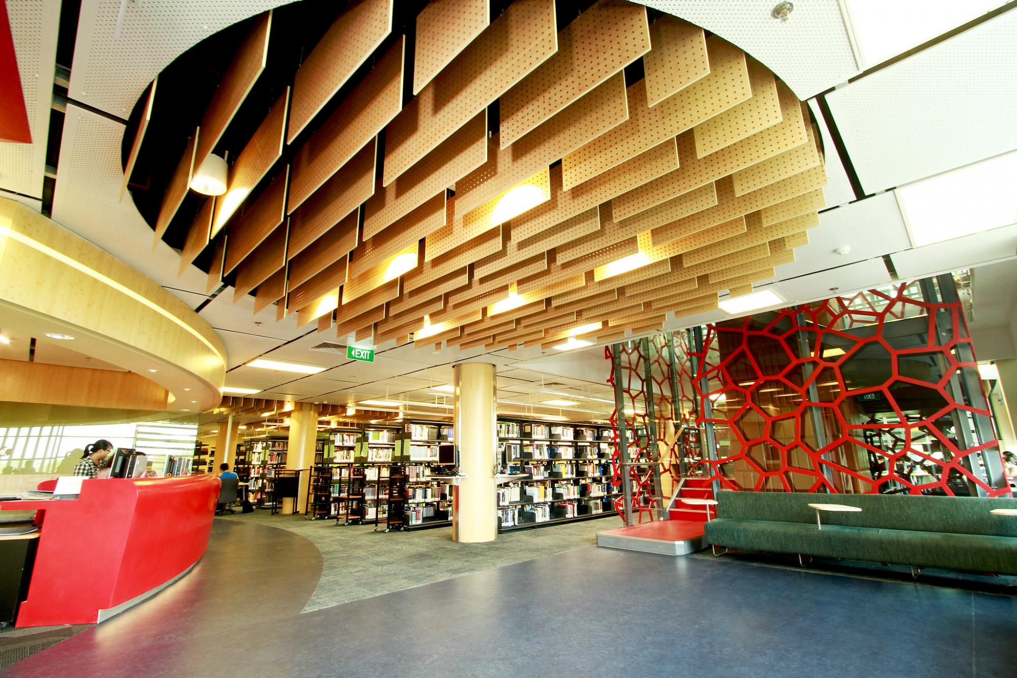 Choáng ngợp với không gian thư viện của trường quốc tế đến từ Úc