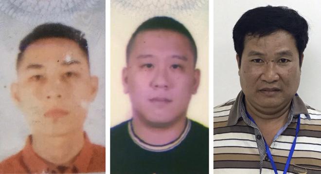 Các đối tượng từ trái sang phải: Mai Tiến Dũng, Nguyễn Bảo Trung và Phạm Văn Hiệp