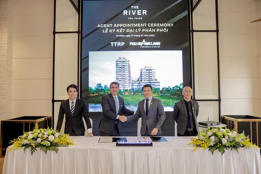 Phú Hoàng Land là đơn vị phân phối chính thức The River - Thu Thiem