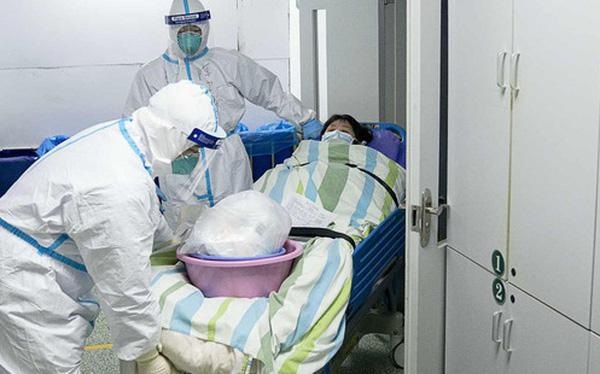 Hình ảnh được cho là từ một bệnh viện tại Vũ Hán. Thực sự nó khiến tôi sợ hãi.
