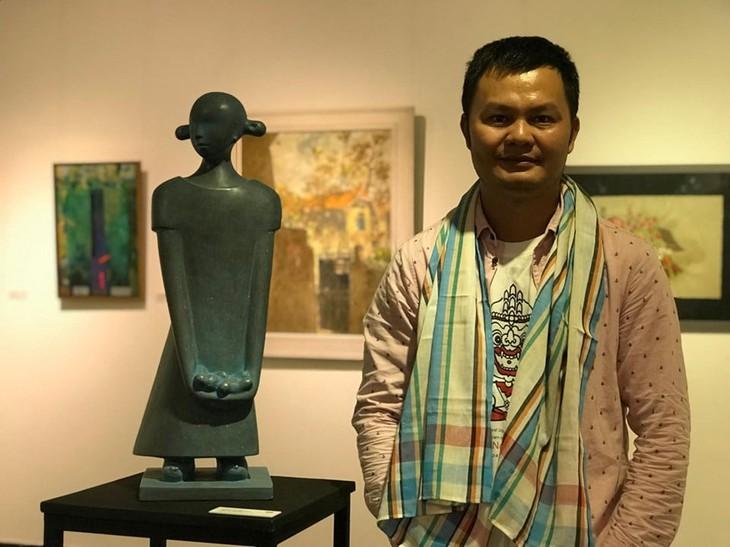 Nghệ sĩ điêu khắc Thái Nhật Minh
