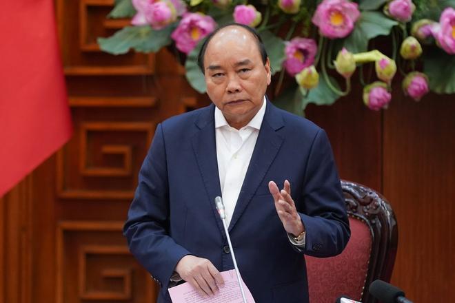 Thủ tướng Nguyễn Xuân Phúc nêu trong chỉ thị, việc chống dịch bệnh phải xem như