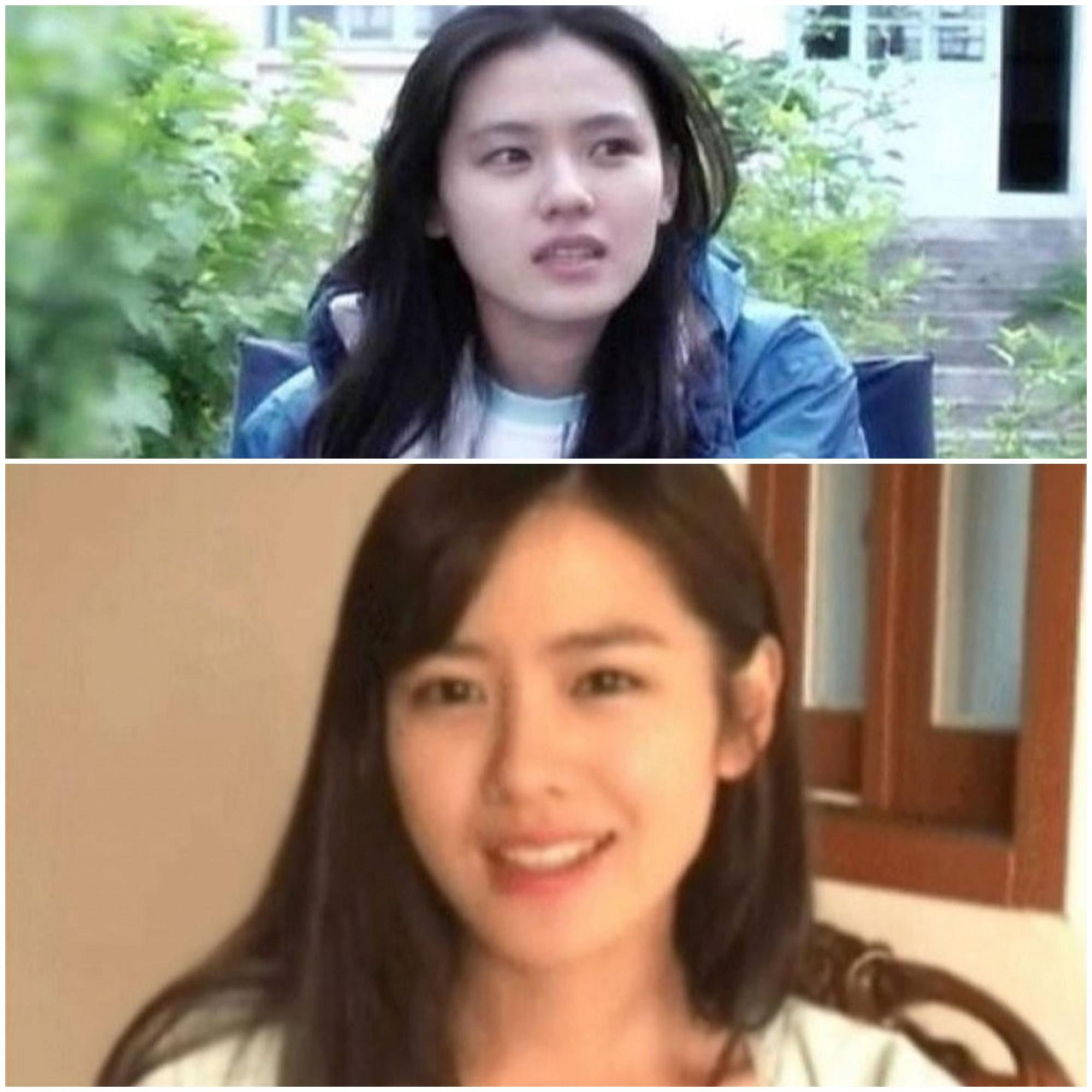 Trong khi đó, Son Ye Jin gây chú ý với khuôn mặt nhỏ nhắn, nụ cười duyên mang đậm nét đẹp của người con gái Á Đông.