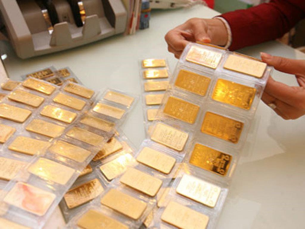 Giá vàng SJC bị mất 350.000 đồng sau một đêm vì lo ngại vi rút corona