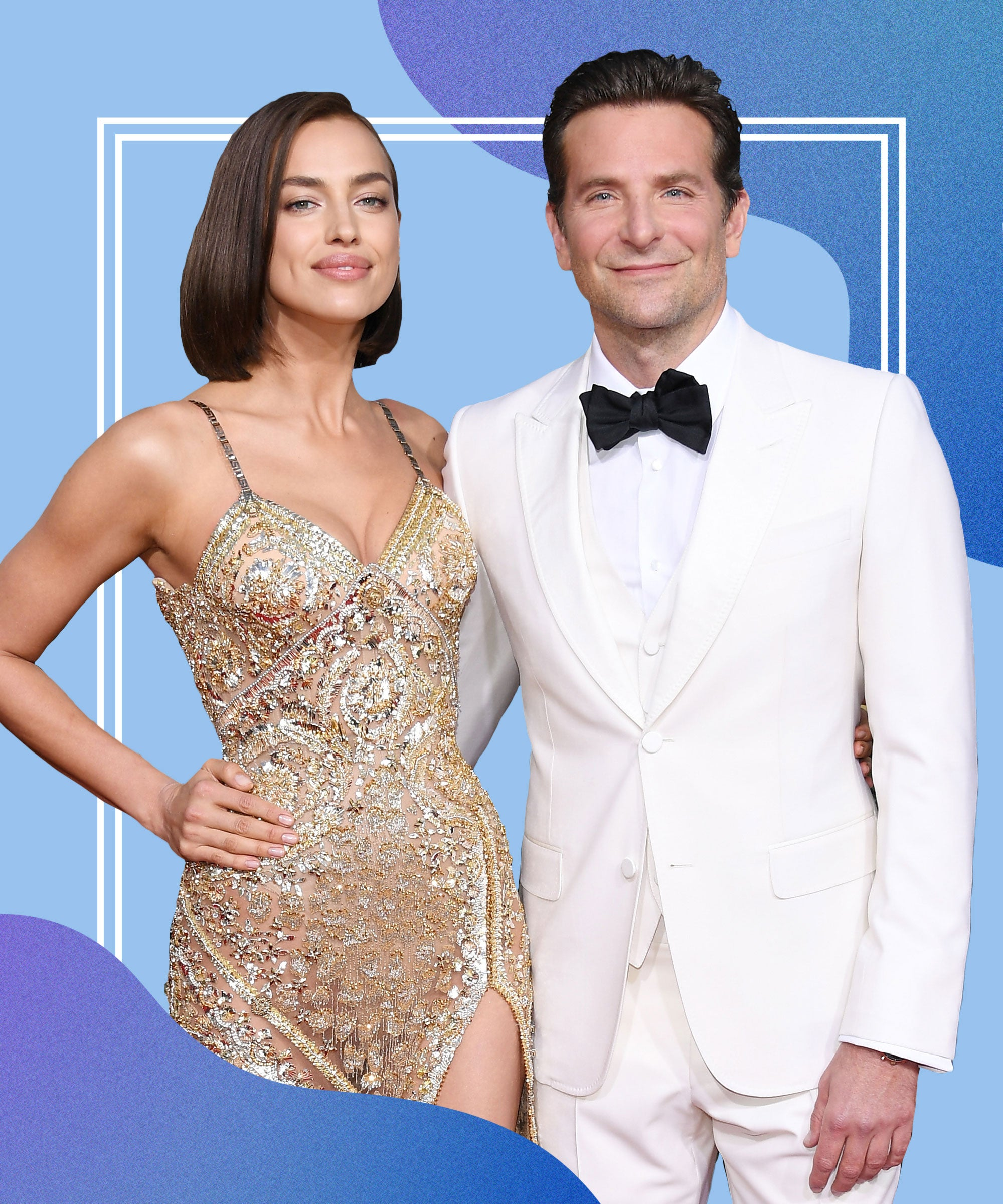 Irina Shayk và người tình - nam diễn viên Bradley Cooper