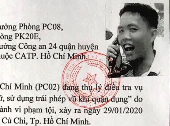 Đối tượng Phạm Thanh Tâm.