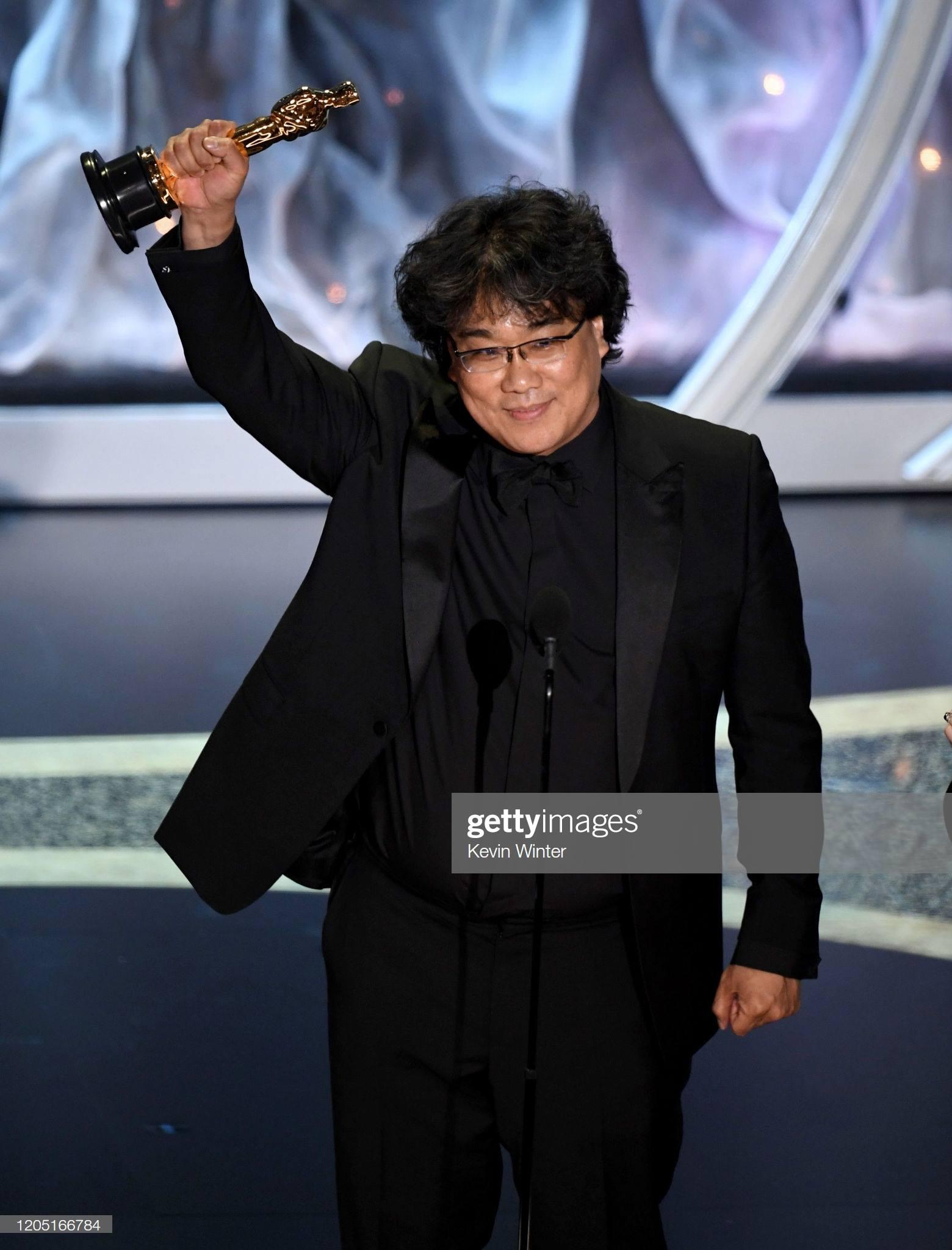 Bong Ho Joon nhận giải