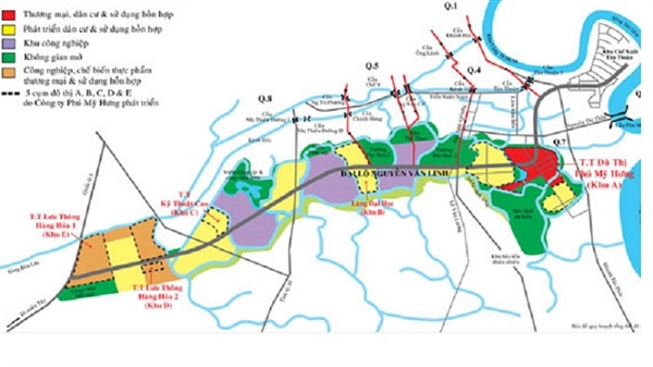 Quy hoạch tổng thể Khu đô thị mới Nam thành phố