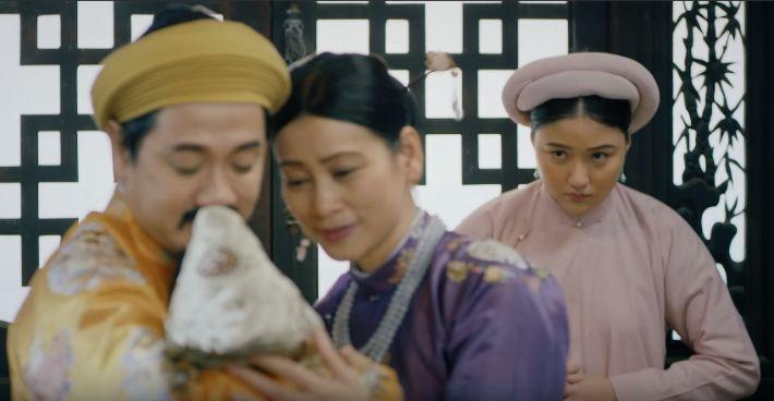 NSUT Thành LỘc và NSUT Tuyết Thu vào vai Khánh Hoàng và Đào Viên trong phim Phượng Khấu