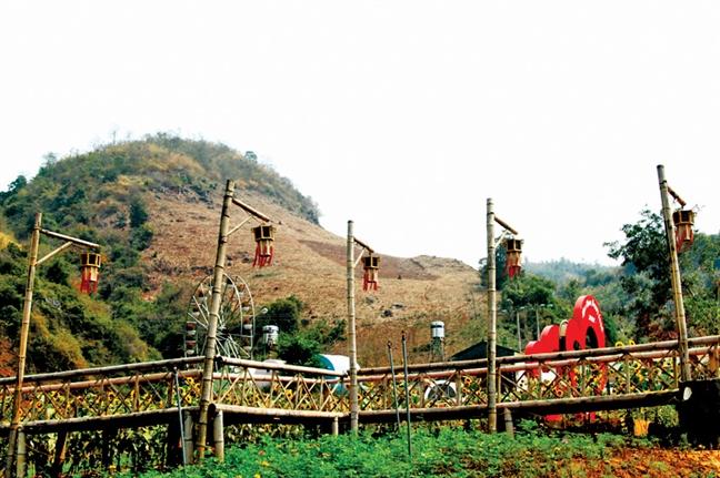 Happy Land Moc Chau - mot lan check in