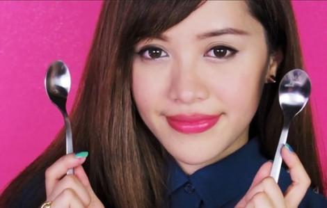 Clip 3 bí quyết làm đẹp độc đáo bằng muỗng cùng Michelle Phan