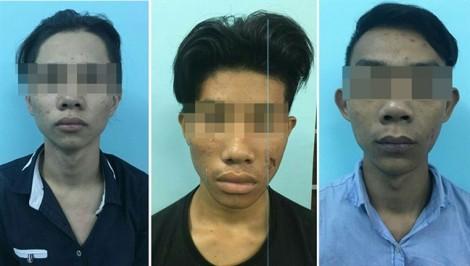Nhóm thiếu niên dùng dao cướp tài sản tình nhân ở kênh Nhiêu Lộc