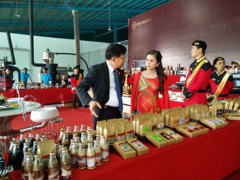 Vợ ông Đặng Lê Nguyên Vũ mở nhà máy cà phê mới TNI King Coffee