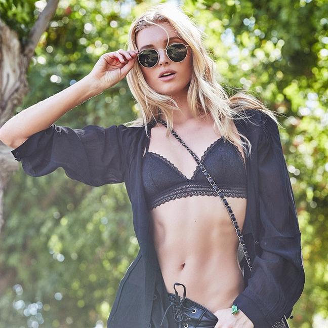 Thien than Victoria's Secret nong bong o le hoi Coachella 2017