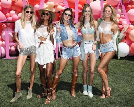 Thiên thần Victoria's Secret nóng bỏng ở lễ hội Coachella 2017